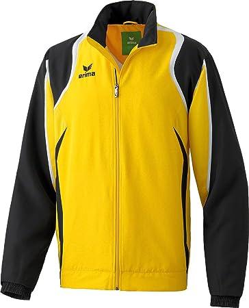 Erima Razor Line Presentation jacket men - yellow black white, Größe 4 3a483f302c
