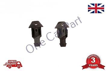 2 x modelos antiguos Universal Arandela Jet limpiaparabrisas boquilla tubería manguera: Amazon.es: Coche y moto