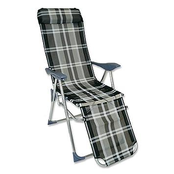 Alu Relax Sessel 83 X 61 X 120 Cm Relaxstuhl Sessel Stuhl Garten Klappsessel