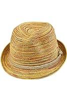 Chapeau - TOOGOO(R)Multicolores chapeau pour femme chapeau de paille Chapeau d'ete vacances chapeau du soleil