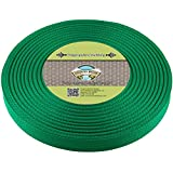 Country Brook Design 1 Inch Kelly Green Polypro Webbing, 25 Yards