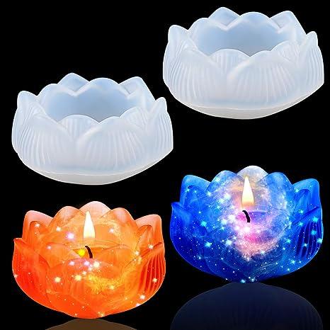 candle holder tea light dish candle dish lotus jewelry holder Resin lotus trinket dish lotus dish tea light holder