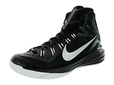 detailed look 5e188 26344 Nike Men s Hyperdunk 2014 TB Black Metalic Silver White Basketball Shoe 8.  5 Men US  Buy Online at Low Prices in India - Amazon.in