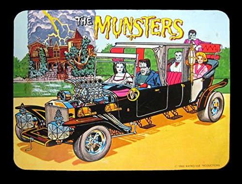 THE MUNSTERS LUNCHBOX VINTAGE ART 2