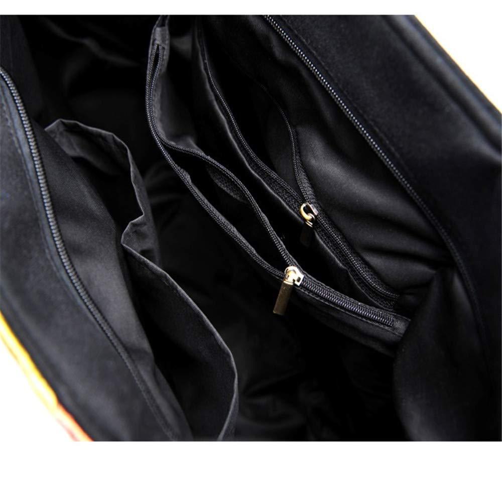 Csqw Broderi axelväska handväska kvinnors axelväska messengerväska broderad duk oval a