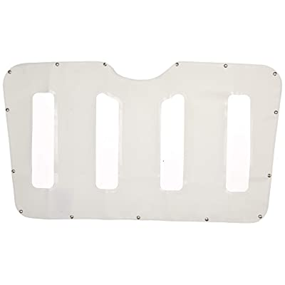 Belmor WF-2227-1 White Winterfront Truck Grille Cover for 2007-2011 Peterbilt 387: Automotive