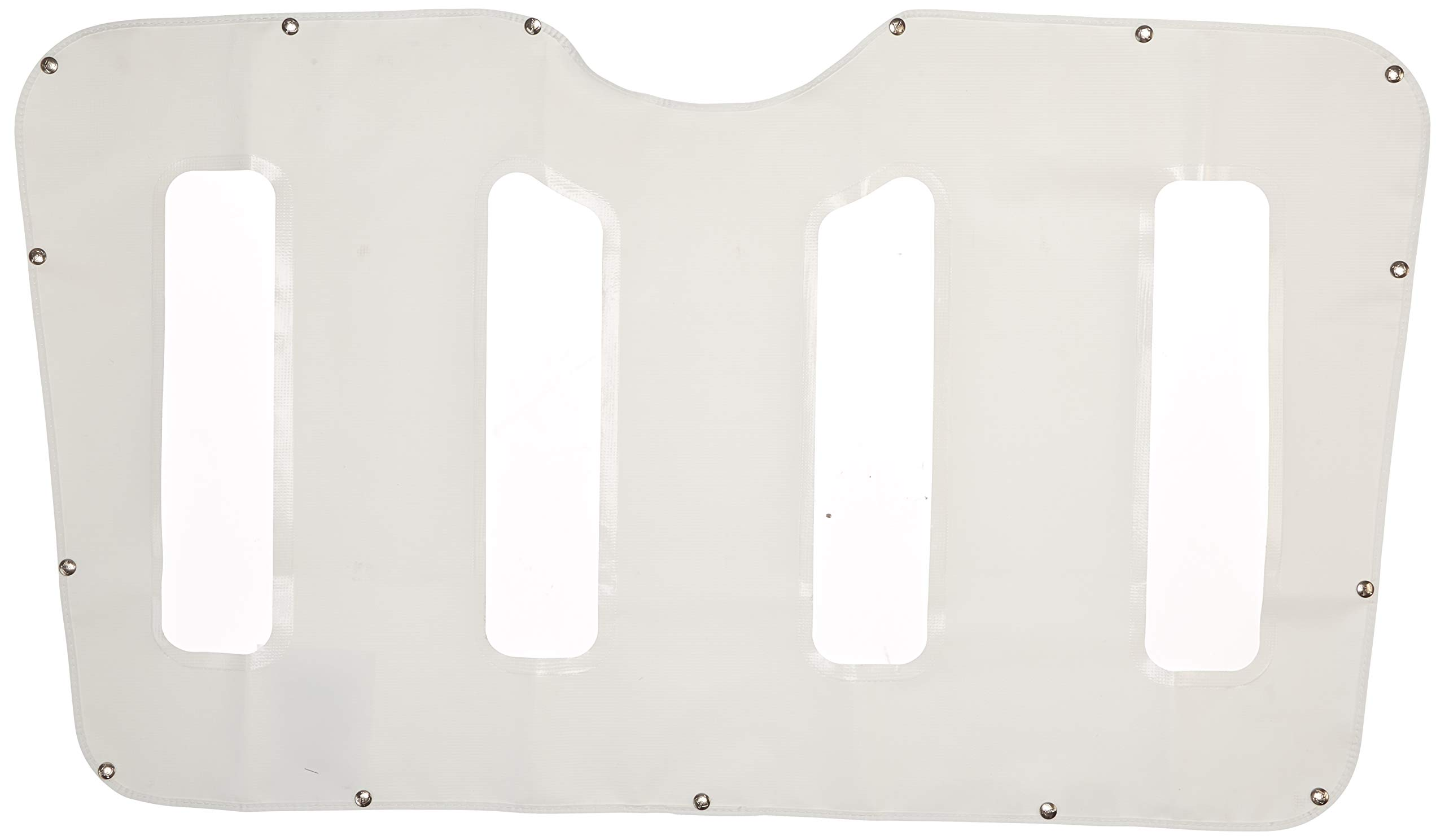 Belmor WF-2227-1 White Winterfront Truck Grille Cover for 2007-2011 Peterbilt 387
