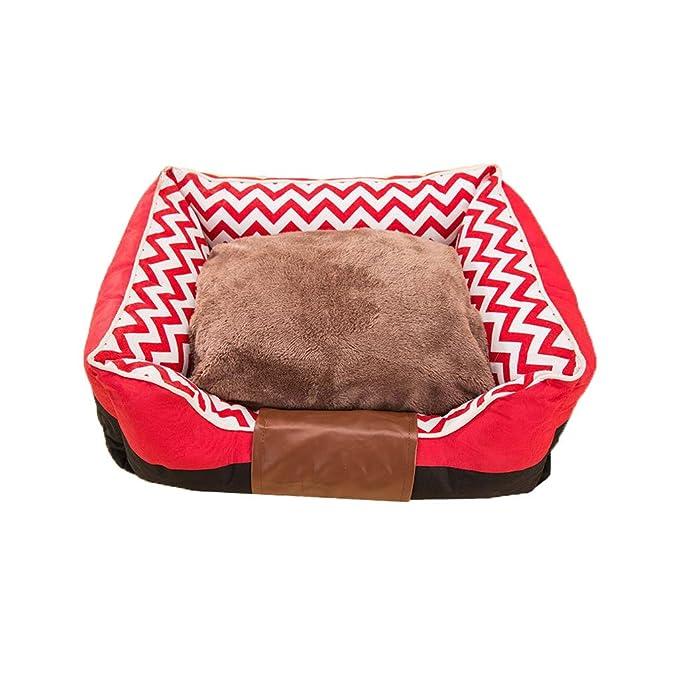 Pet harem Casa de campo nido a rayas Casa de perro Teddy Bichon Cama para perro Pequeña Nido de mascota para perro mediano: Amazon.es: Hogar