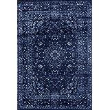 3212 Distressed Denim 5x7 Area Rug Carpet Large New