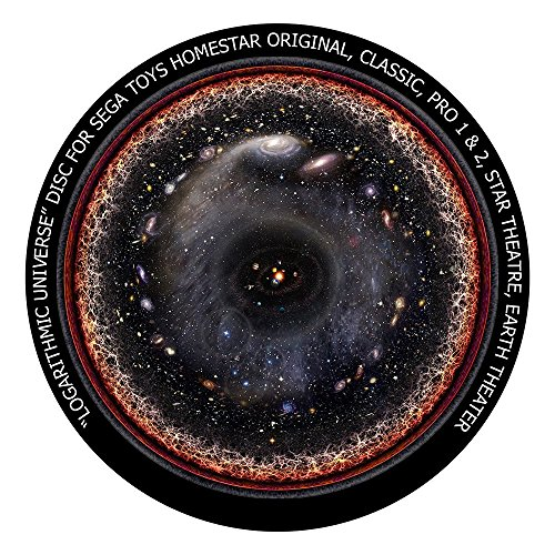 (Logarithmic Universe disc for Segatoys Homestar Pro 2, Classic, Original, Earth Theater Home Planetarium)