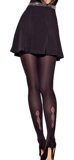 cff161e6605 Conte elegant Women s Semi-Opaque 50 Denier Decorative Pantyhose - Magic at Amazon  Women s Clothing store