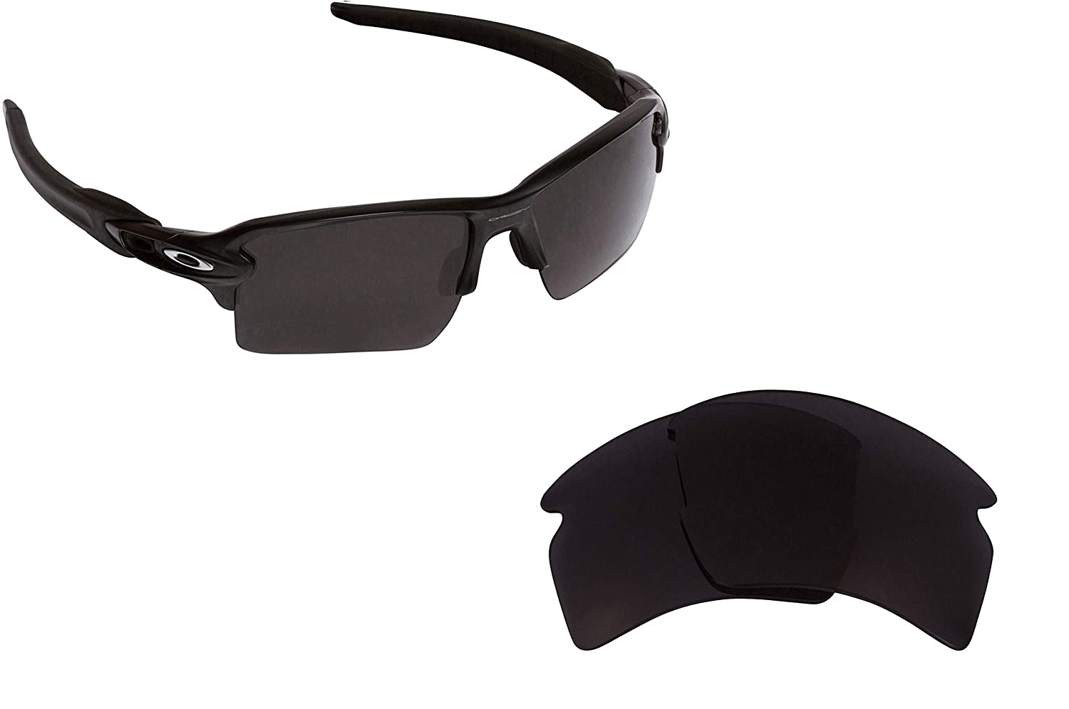 a801012484 Seek Optics Replacement Lenses for Oakley FLAK 2.0 XL