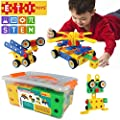 ETI Toys | STEM Learning | Original 92 Piece Educational Construction Engineering Building Blocks Set for 3, 4 and 5+ Year Old Boys & Girls | Creative Fun Kit | Best Toy Gift for Kids Ages 3yr - 6yr