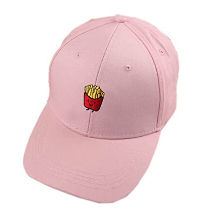 Buy Fries Sports Caps Fashion Caps Ladies Baseball Caps Women Golf Hats  Pink Online at Low Prices in India - Amazon.in fcb6068a2d