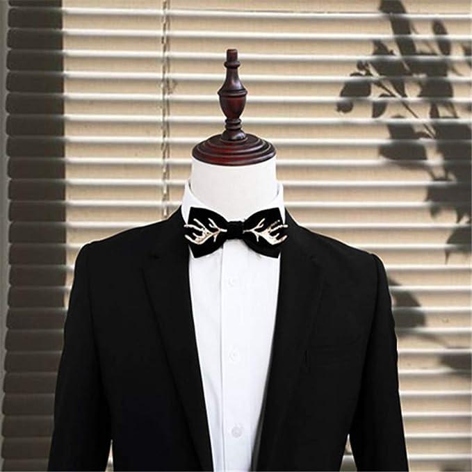 Ju-sheng Corbata Corbata de Lazo clásica de la Boda Hecha a Mano ...