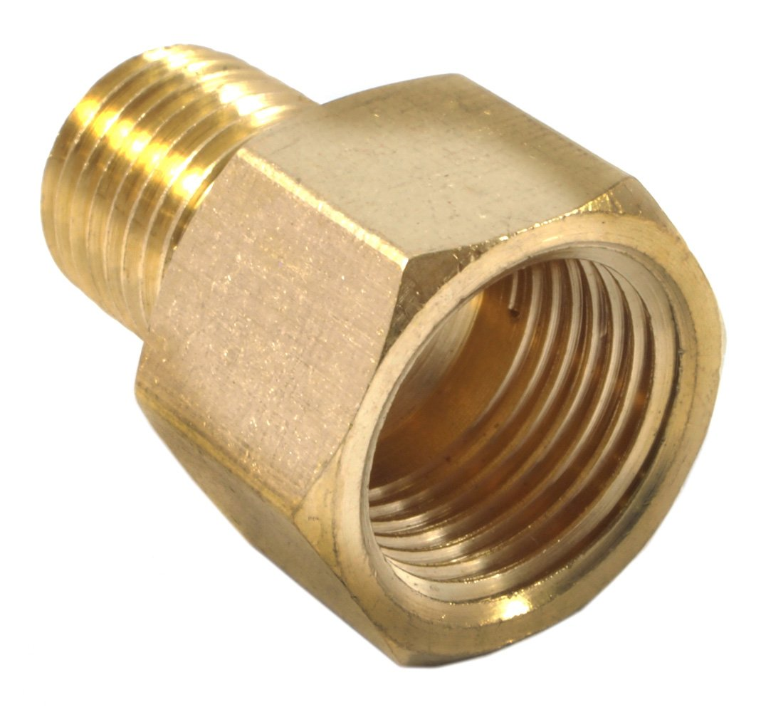 Forney brass fitting reducer adapter inch