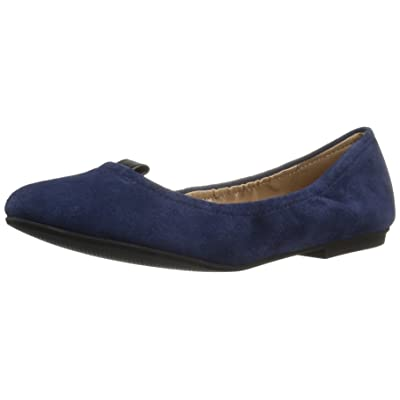 Amazon Brand - The Fix Women's Sloan Tab Elasticated Ballet Flat: Shoes