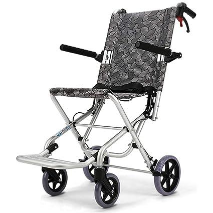 Silla de ruedas Rampas Personas Mayores portátil y portátil portátil Ultraligera para Personas con Movilidad Reducida