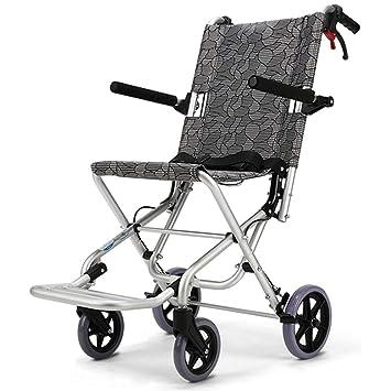 Silla de ruedas Rampas Personas Mayores portátil y portátil portátil Ultraligera para Personas con Movilidad Reducida Puede es: Amazon.es: Hogar