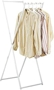 IdeaWorks Hanging Clothes Rack, White