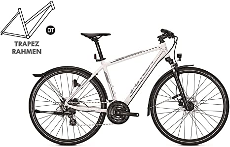 Univega terreno 4.0 Street – Bicicleta de cross White: Amazon.es ...
