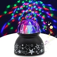 Yocuby Disco lekka kula dźwiękowa aktywowane oświetlenie imprezowe, oświetlenie DJ, kula dyskotekowa RBG, lampa…