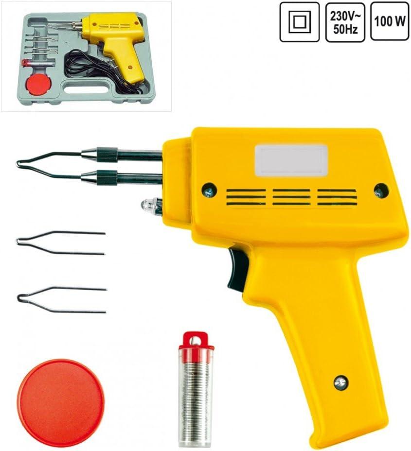 L/ötbrenner L/ötzinn L/ötkolben L/ötset L/ötpistole im Systemkoffer 100 Watt