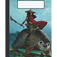Composition Notebook: Raya And The Last Dragon Wide Ruled Composition Journal