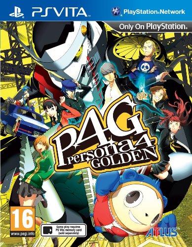 Persona 4 Golden (PlayStation Vita) (Ps Vita Games Persona)