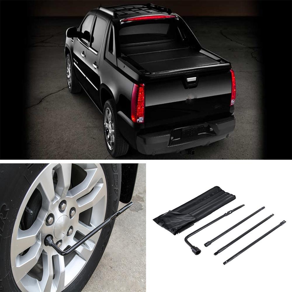 AUXMART Premium Spare Tire Tool Replacement Kit Fit Chevrolet GMC Cadillac Trucks SUVs