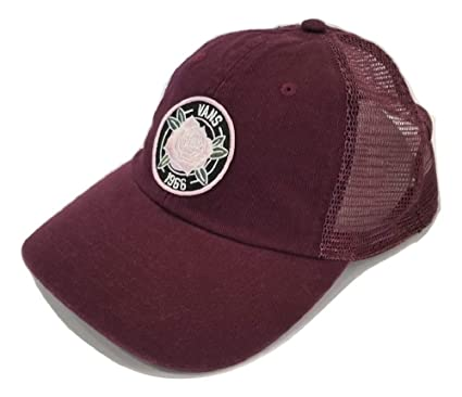 07f7287e69ce4 Image Unavailable. Image not available for. Color  Vans Women s Acer SMU  Trucker Snapback Hat Port Royale One-Size VN0A3MXG4QU