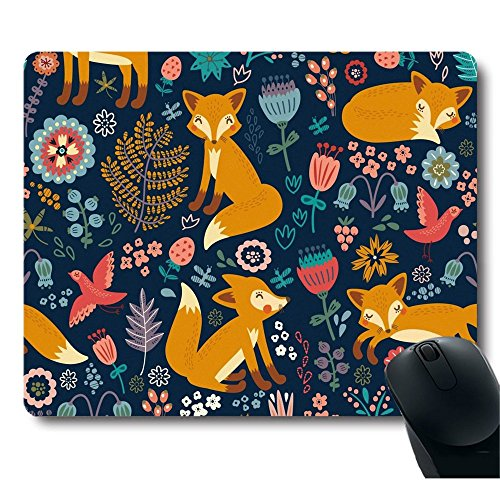national-style-fox-pattern-stain-resistance-collector-kit-kitchen-drink-coaster-mouse-pad