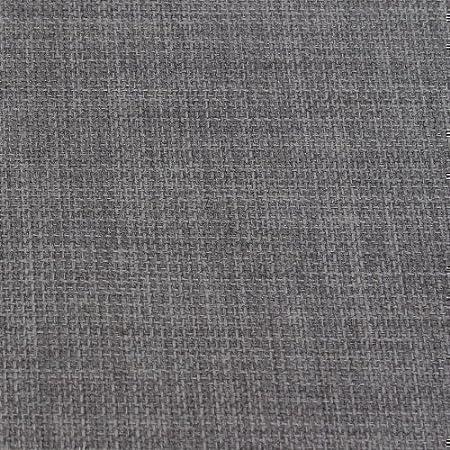 SLATE GREY SOFT PLAIN LINEN LOOK HOME ESSENTIAL DESIGNER LINOSO CURTAIN  CUSHION SOFA BLIND UPHOLSTERY FABRIC