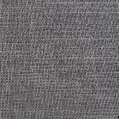 slate grey soft plain linen look home essential designer linoso