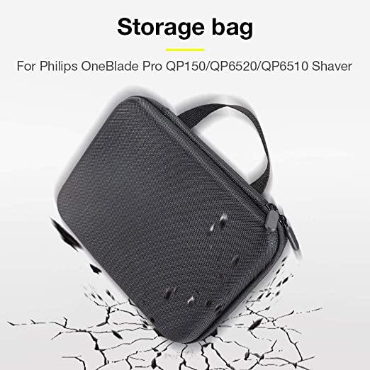 josietomy Estuche Rígido De Viaje para Philips OneBlade Pro QP6520 ...
