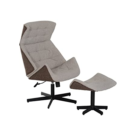 CLEARANCE HOMCOM Single Seater Adjustable Recliner Sofa Arm Chair Chaise Lounge Cushion Living Room Lounger Couch