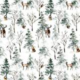 """Multipurpose Seasonal Wrapping Paper for Christmas Gifts, Arts and Crafts, Heavyweight Xmas Gift Wrap for Men and Women - Creative Bag (Winter Wonderland, 24"""" x 50')"""