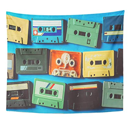 Amazon com: Semtomn Tapestry Player Old Cassette Tape on
