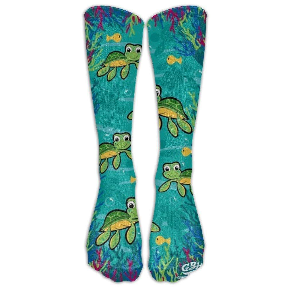2 Pairs Womens Knee High Socks Best For Pregnancy And Travel Frog Pattern Long Socks For Women