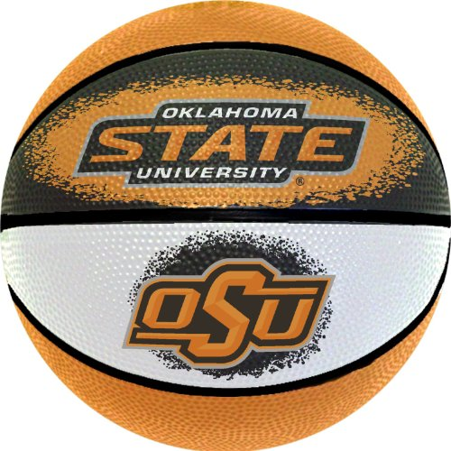 NCAA Oklahoma State Cowboys Mini Basketball, 7-Inches (Oklahoma Basketball State)