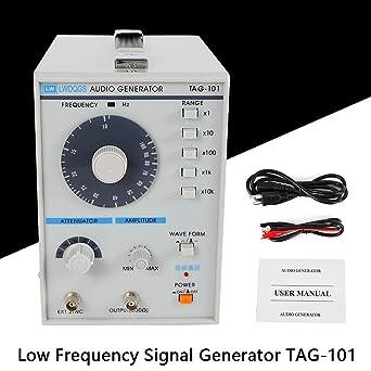 Digitalae Bassa frequenza Generatore Di Segnale TAG-101 220V 10Hz-1MHz EU Plug