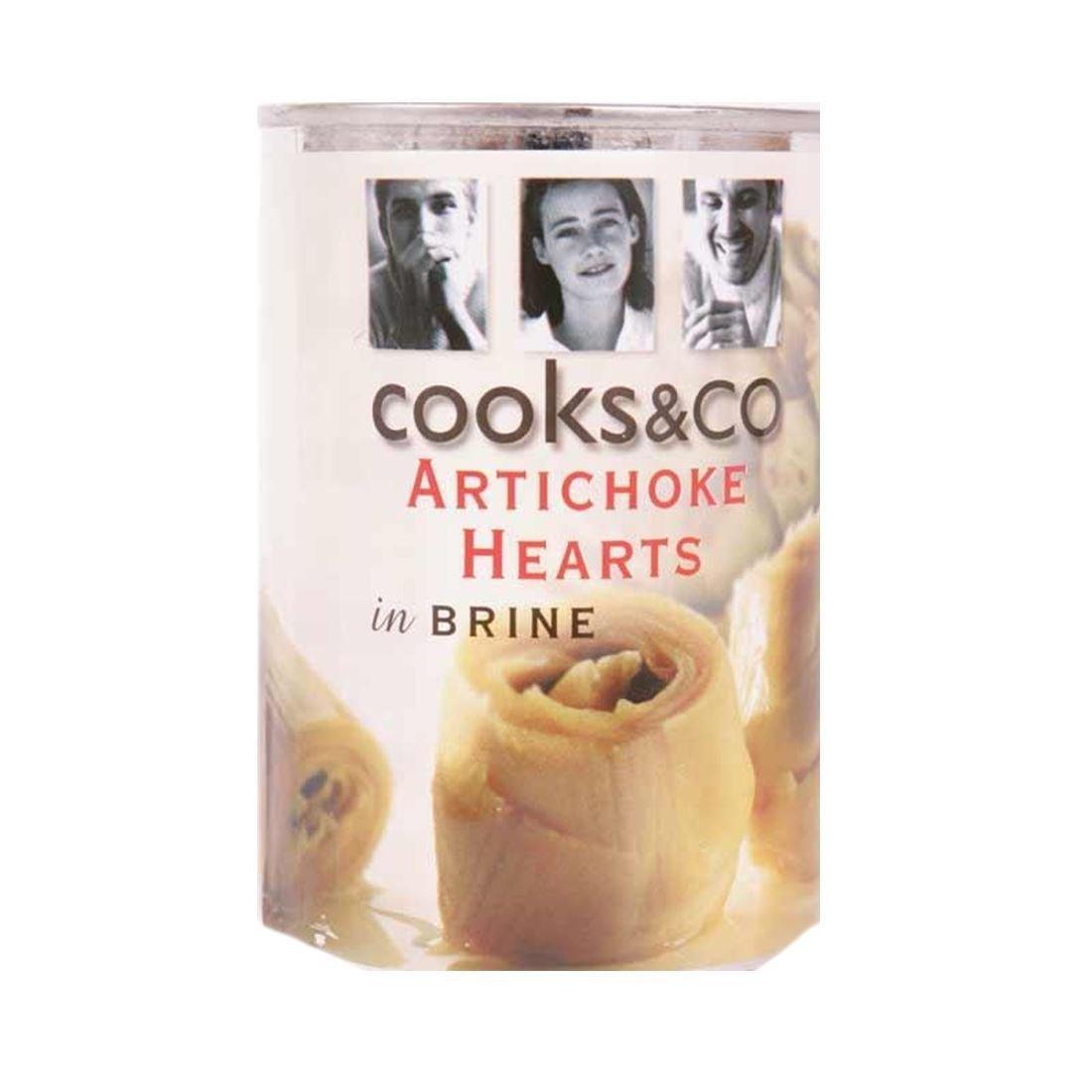 Cooks & Co | Artichoke Hearts in Brine | 3 x 390g