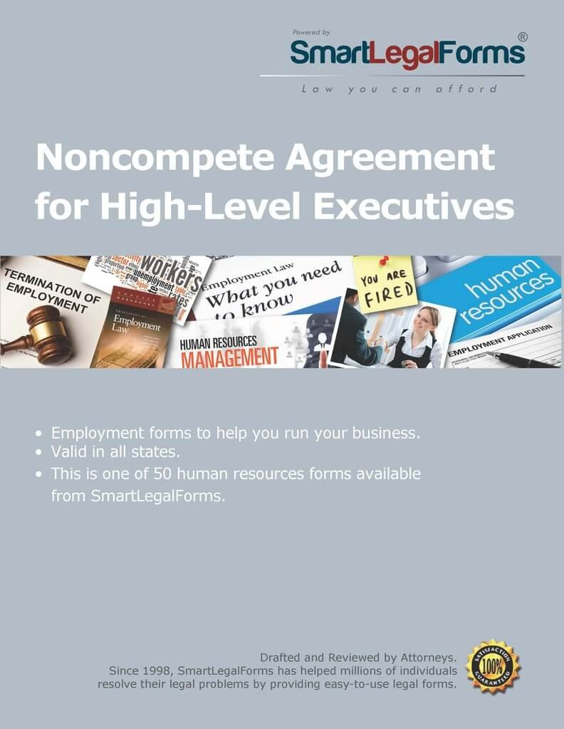 Amazon Noncompete Agreement For High Level Executives Instant