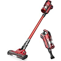 ZIGLINT Z8 Cordless Vacuum Cleaner with 20KPa High Suction, LED Power Brushes, 5 Head Tool Accessories