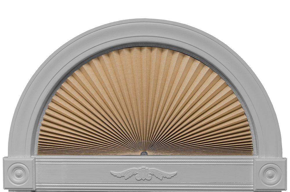 "Original Arch Light Blocking Fabric Shade, Natural, 72"" x 36"""