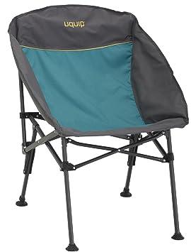 Uquip Comfy - Silla de camping plegable - Silla plegable resistente, compacta y ligera