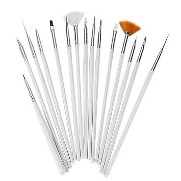 Amazon Eyx Formula Profession Nail Art Brush Set Of 15 Pcs