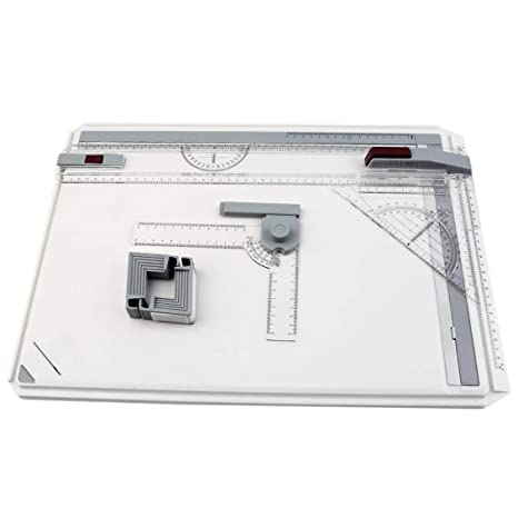 Mesa de tablero de dibujo portátil A3 con movimiento ...