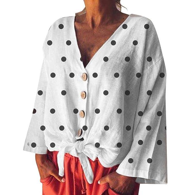 Blusas para Mujer Elegantes Fiesta Ropa De Talla Grande ...