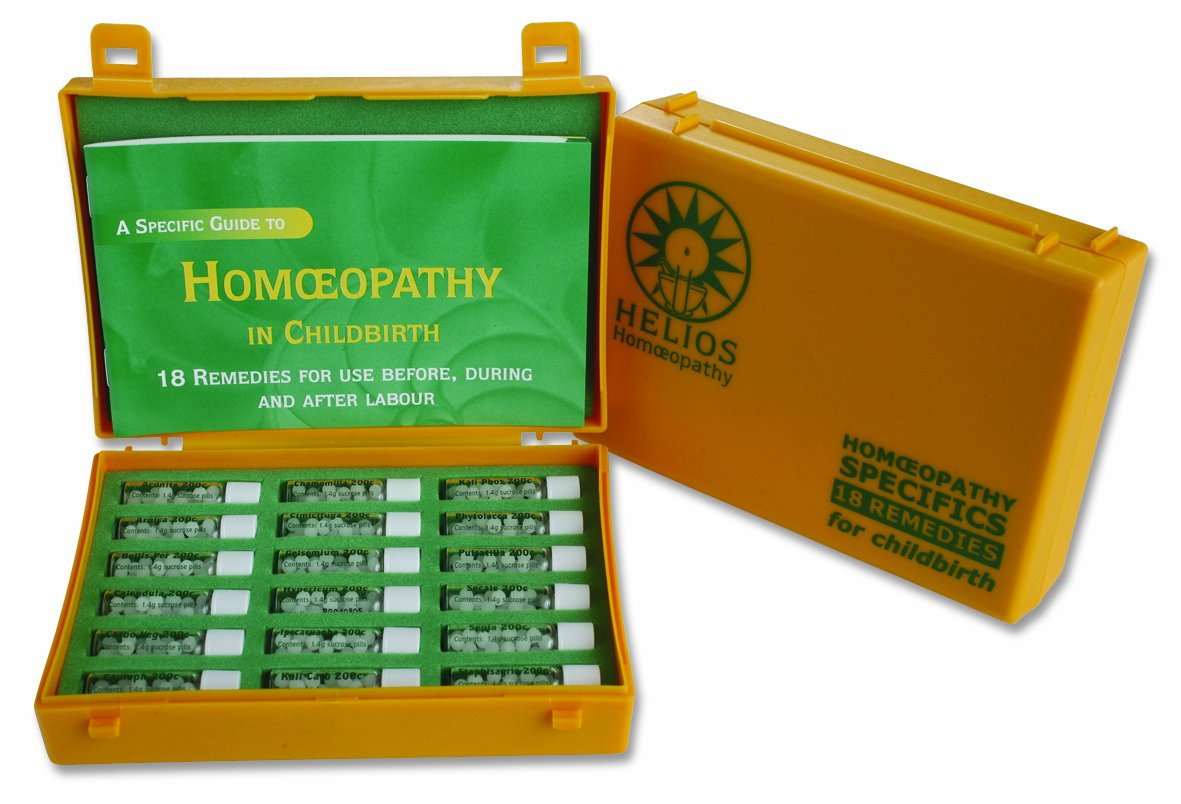 18 Remedy Homeopathic Childbirth Kit
